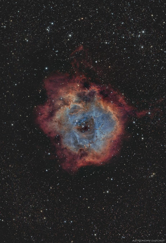 NGC2244 - 61/274 EDPH - Hypercam 294C (SHO)