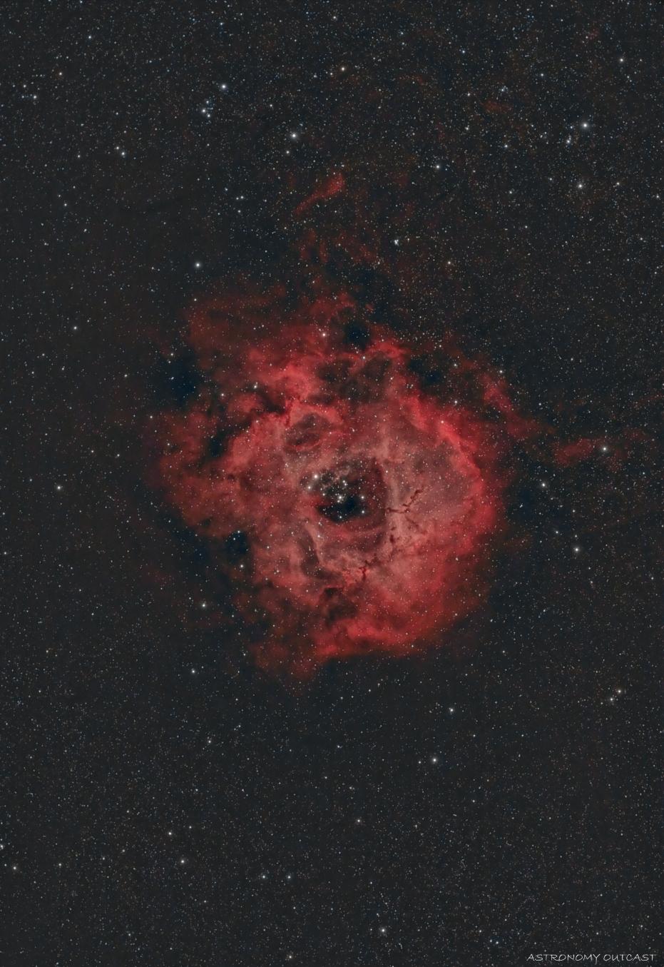 NGC2244 - 61/274 EDPH - Hypercam 294C (Ha)
