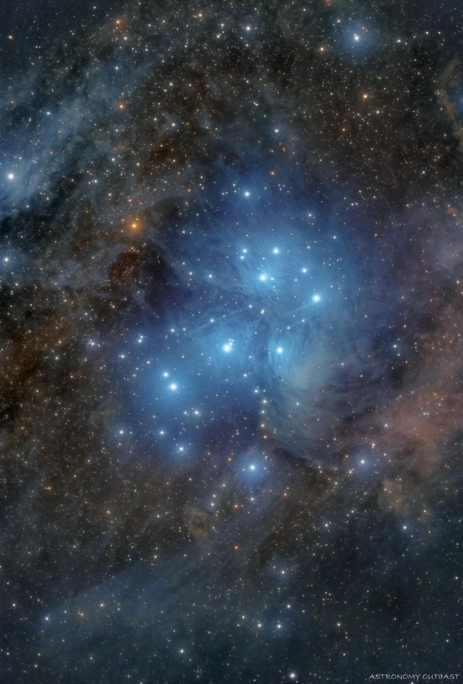 M45 - 61/274 EDPH - Hypercam 294C