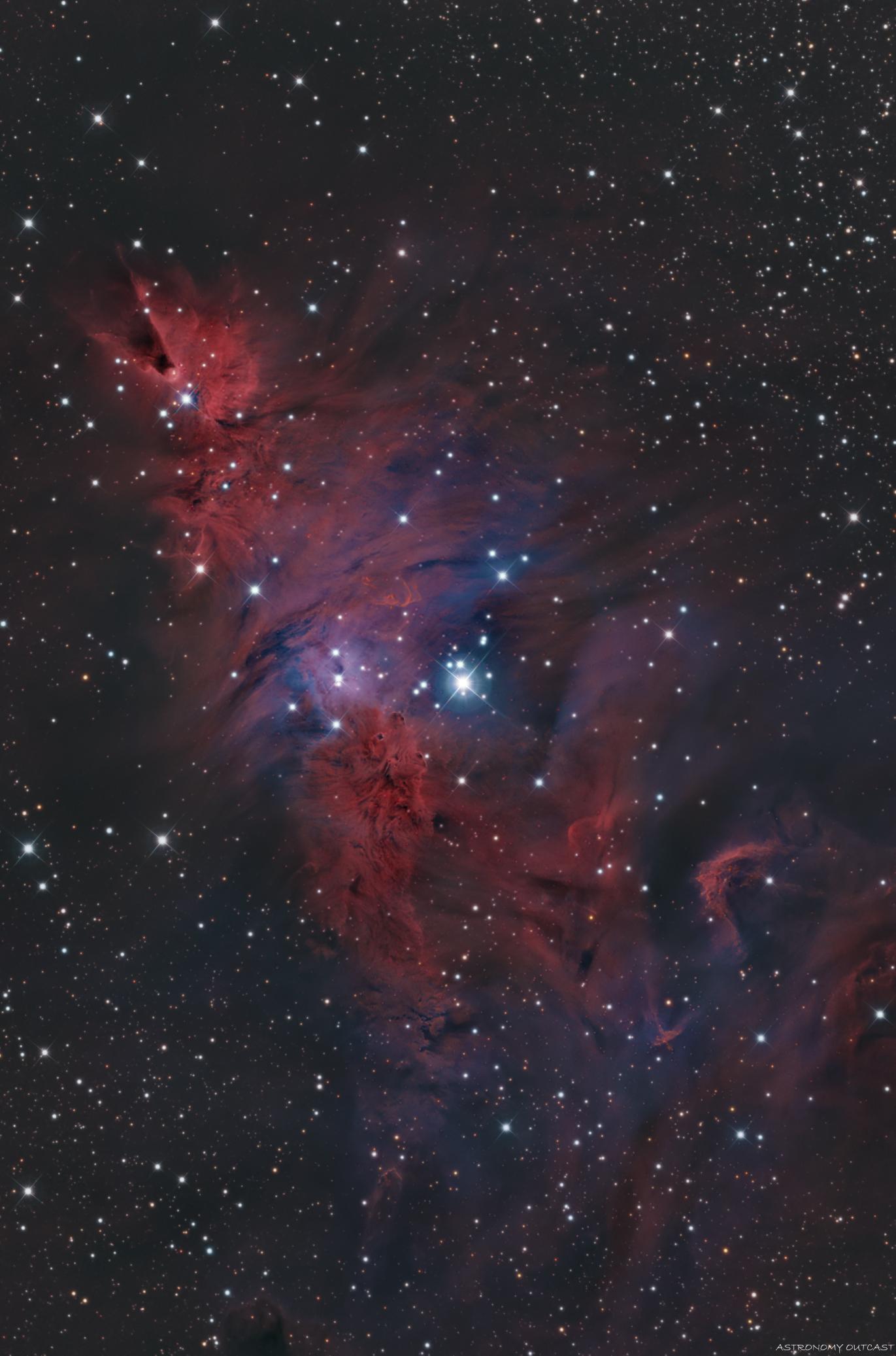 NGC2264 - T300 - ASI2600 MC pro
